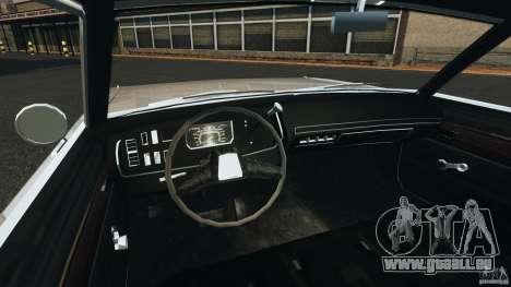 Dodge Dart 1969 [Final] für GTA 4 Rückansicht