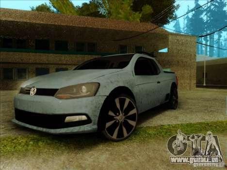 Volkswagen Saveiro 2014 pour GTA San Andreas
