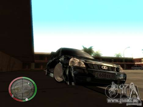 Lada Priora Dag Style für GTA San Andreas linke Ansicht