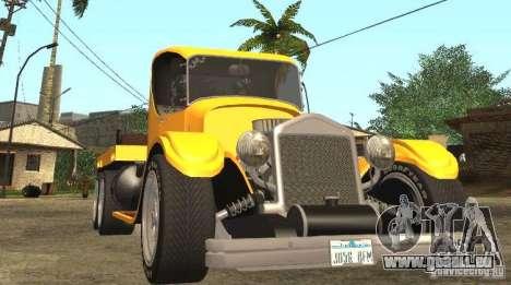 Ford Model-T Truck 1927 pour GTA San Andreas vue arrière