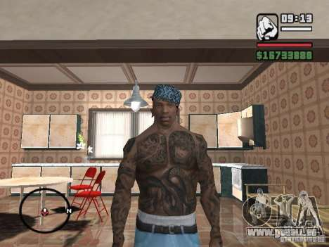 Ami James & Chris Nunez Tattoo pour GTA San Andreas