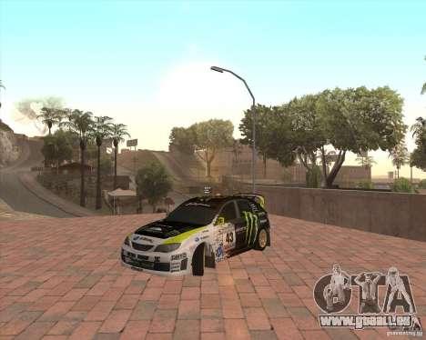 Subaru Impreza Ken Block für GTA San Andreas