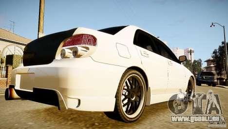 Subaru Impreza 2005 pour GTA 4 est une gauche