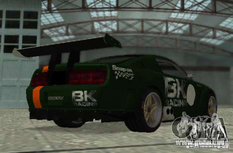 Ford Mustang GT-R pour GTA San Andreas vue de côté
