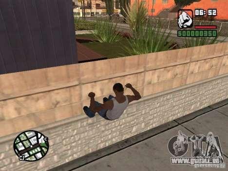 PARKoUR pour GTA San Andreas cinquième écran