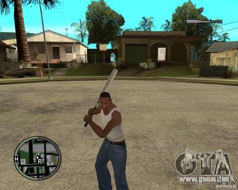 GTA IV HUD für GTA San Andreas