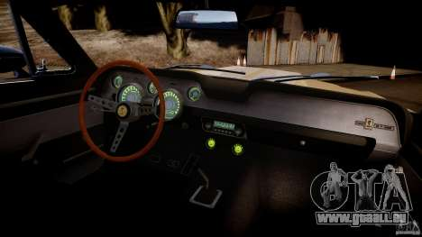 Shelby Mustang GT500 Eleanor v.1.0 Non-EPM für GTA 4 Innenansicht