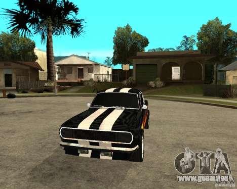 GAZ 2410 Camaro Edition für GTA San Andreas Rückansicht