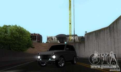 VAZ 21213 NIVA FBI pour GTA San Andreas vue de côté