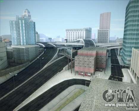 Nouvelles routes autour de San Andreas pour GTA San Andreas huitième écran