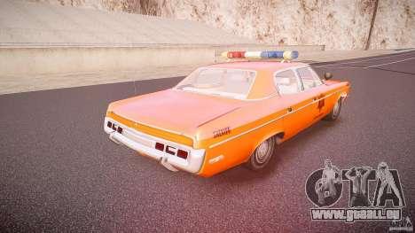AMC Matador Hazzard County Sheriff [ELS] pour GTA 4 vue de dessus