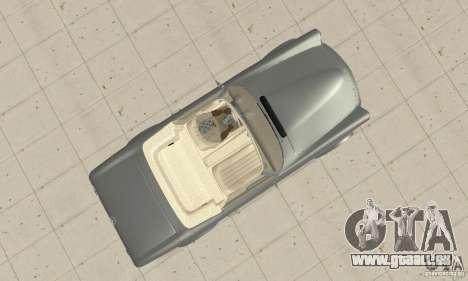Mercedes-Benz 280SL (Matt) pour GTA San Andreas vue de droite