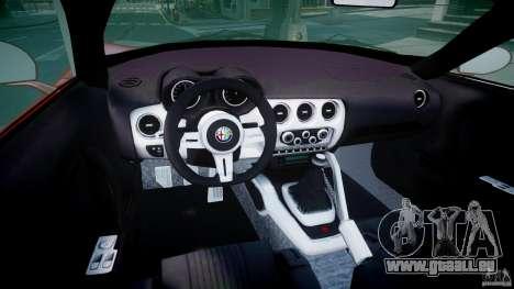 Alfa Romeo 8C Competizione für GTA 4 rechte Ansicht