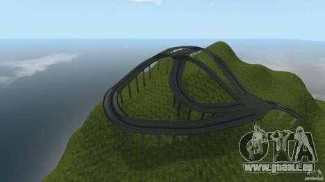 Crash Test Mountain pour GTA 4 troisième écran