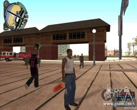 S.T.A.L.K.E.R. Call of Pripyat HUD for SA v1.0 für GTA San Andreas fünften Screenshot