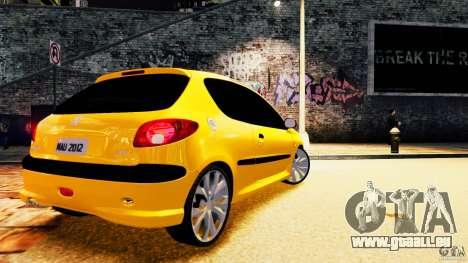 Peugeot 206 pour GTA 4 est un droit
