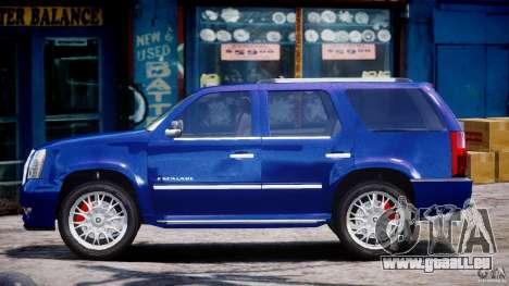 Cadillac Escalade [Beta] für GTA 4 linke Ansicht