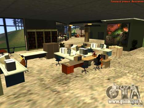 20th floor Mod V2 (Real Office) pour GTA San Andreas