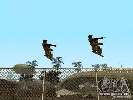 Transformateurs pour GTA San Andreas quatrième écran