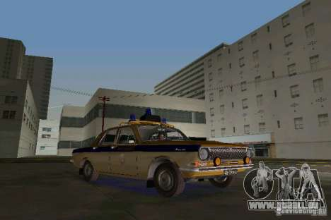 GAZ-24 Miliz für GTA Vice City linke Ansicht
