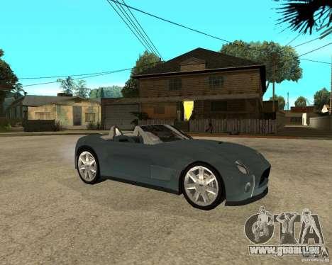 Ford Cobra Concept für GTA San Andreas rechten Ansicht