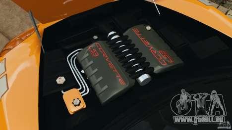 Chevrolet Corvette C6 Grand Sport 2010 pour GTA 4 est un côté