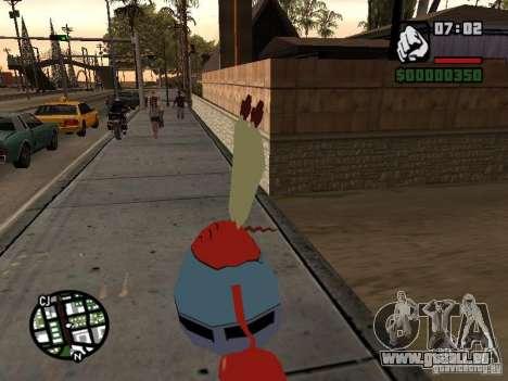 Mr. Krabs für GTA San Andreas her Screenshot