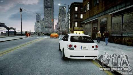 Toyota Altezza Gita Version 2 pour GTA 4 Vue arrière de la gauche