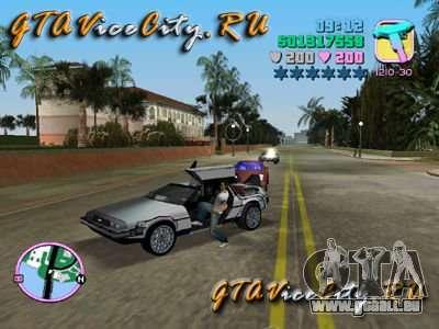De Lorean für GTA Vice City