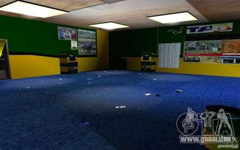Nouveau bureau de Bukmejkerskaâ pour GTA San Andreas sixième écran