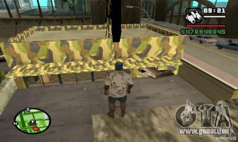 Armurerie sur Grove pour GTA San Andreas cinquième écran