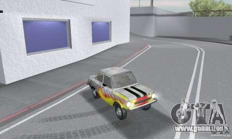 ZAZ 968 m en lambeaux pour GTA San Andreas vue de droite