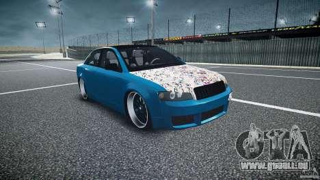 Audi S4 Custom für GTA 4 Rückansicht