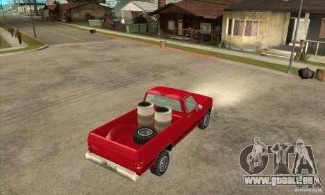 GMC Sierra 2500 pour GTA San Andreas vue de droite