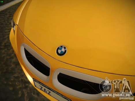 BMW M6 pour GTA San Andreas vue de côté