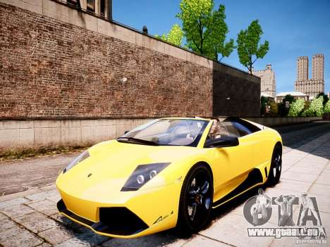 Lamborghini Murcielago LP650-4 Roadster pour GTA 4