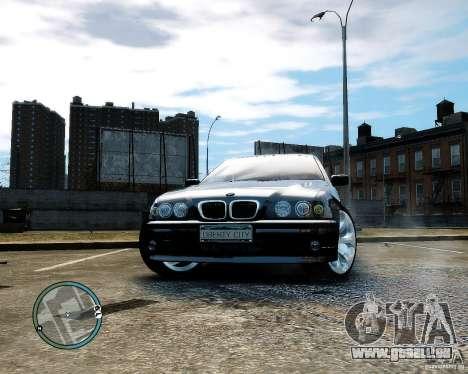 BMW 530I E39 [Final] pour GTA 4 Vue arrière