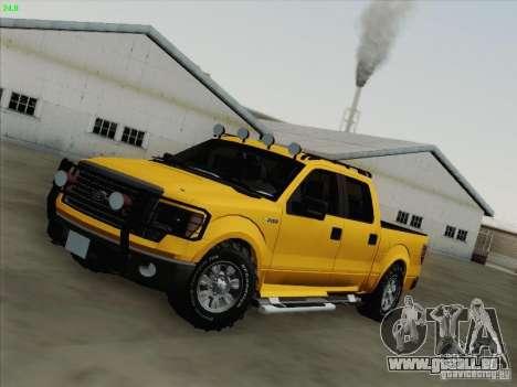 Ford F-150 für GTA San Andreas Innen