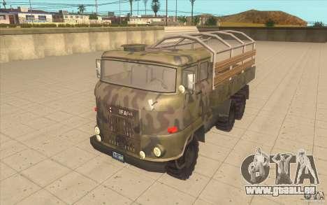 IFA 6x6 Army Truck für GTA San Andreas