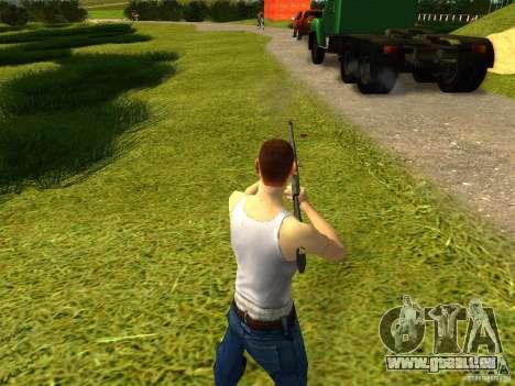 Benelli M4 Super 90 pour GTA San Andreas deuxième écran