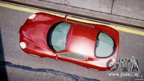 Alfa Romeo 8C Competizione pour GTA 4 est une vue de l'intérieur