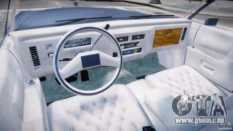 Cadillac Fleetwood Brougham 1985 pour GTA 4 Vue arrière de la gauche