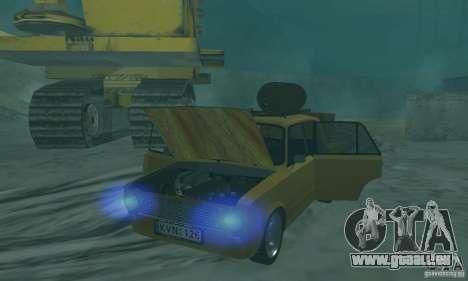 VAZ 2101 RAT LOOK pour GTA San Andreas vue arrière