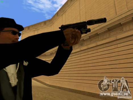 USP45 Tactical für GTA San Andreas sechsten Screenshot
