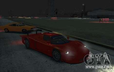 Maserati MC12 R für GTA 4 hinten links Ansicht