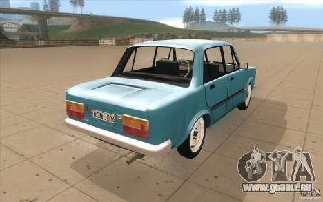 Fiat 125p für GTA San Andreas Seitenansicht