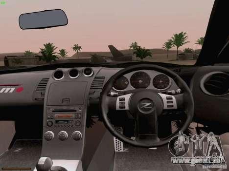Nissan 350Z Nismo S-Tune für GTA San Andreas Seitenansicht