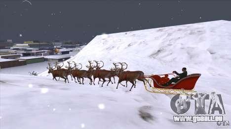 Ist Santa's team für GTA San Andreas linke Ansicht