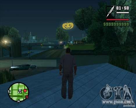 Happy Halloween Mod pour GTA San Andreas deuxième écran