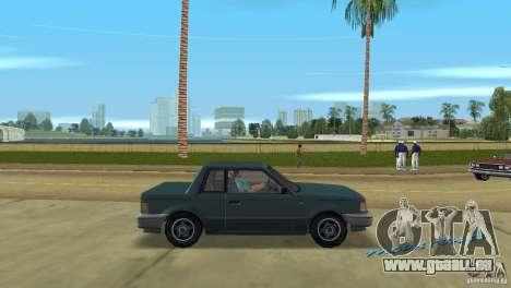 Manana HD pour une vue GTA Vice City de la droite